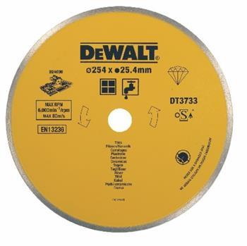 DeWALT DT3733 Diamantový kotouč pro řezačku D24000 na keramické obklady, 254 mm