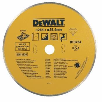 DeWALT DT3734 Diamantový kotouč pro řezačku D24000 na kámen a porcelán, 254 mm