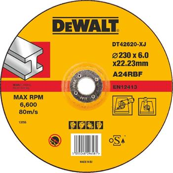 DeWALT DT42620 Brusný kotouč vypouklý na kov, 230 mm