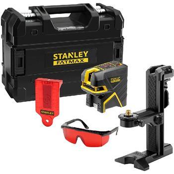 Stanley FatMax křížový + 5bodový laser - červený