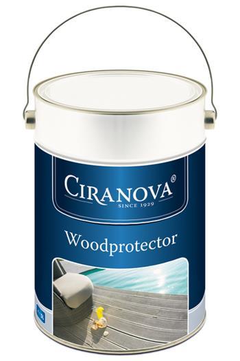 Ciranova WOODPROTECTOR olej na dřevěné terasy 25L