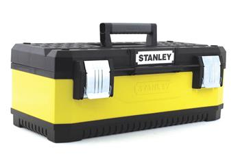 "Stanley Kovoplastový box na nářadí - žlutý, 23"""