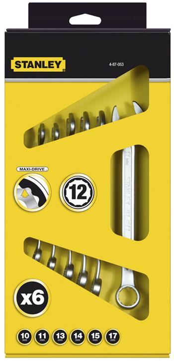 Stanley 8dílná sada očkoplochých klíčů v krabici