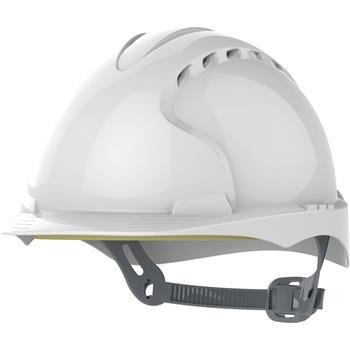 Ochranná stavební helma VOSS Inap-Master 6 polyetylén bílý