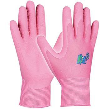GEBOL ochranné dětské rukavice, růžová barva, vel. pro 5-8 let