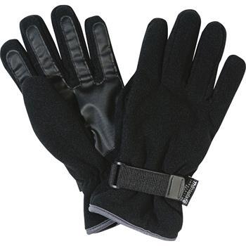 FRISTADS/KANSAS vliesové rukavice černé, podšívka Thinsulate®, vel. S/M, 100% PE