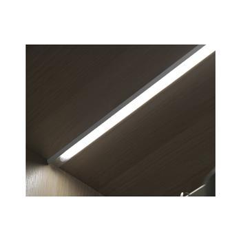 Vestavné světlo Miska Sensor 4,9 W, neutrálně bílé, délka 500mm, hliník