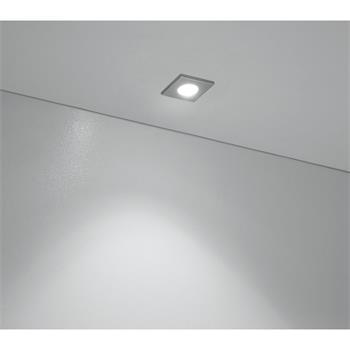 Economy vestavné svítidlo Minipoint 4200 K neutrální bílá, stříbrné, sada 3 ks