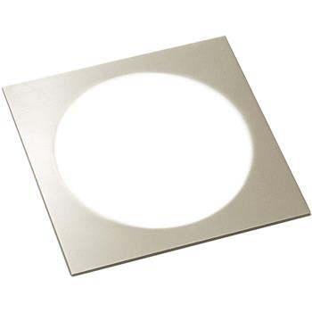 Svítidlo Moonlight Quadrat DualColor SET 3 x 3W, 3000K/4000K nerez efekt