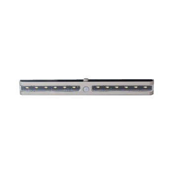 LED svítidlo Space-Light Sensor, 0,9 W, teplá bílá, nerez, 12 V/DC