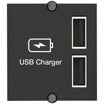 Bachmann Keystone Modul 2x USB nabíječka 2,4A