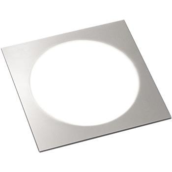 Svítidlo Moonlight Quadrat, sada 3 ks, 3 W neutrální bílá, barva hliníku