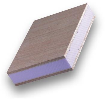 Dveřní PUR deska 29x2500x1700mm meranti OCUME