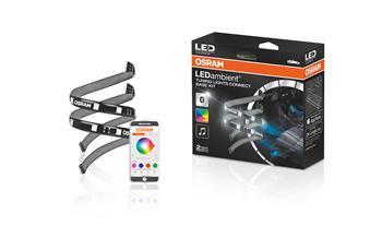 OSRAM LED pásek LEDambient® TUNING LIGHTS CONNECT osvětlení interiéru auta RBG, iOS Android, zákl. sada (Blistr 1ks)