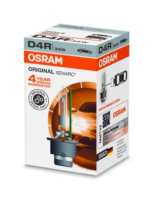 OSRAM xenonová výbojka D4R XENARC 12/24V 35W P32d-6 4300K živ.3000h (Krabička 1ks)