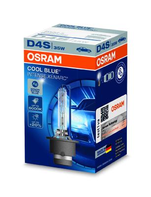OSRAM xenonová výbojka D4S XENARC COOL BLUE INTENSE 12/24V 35W P32d-5 6000K živ.3000h (Krabička 1ks)