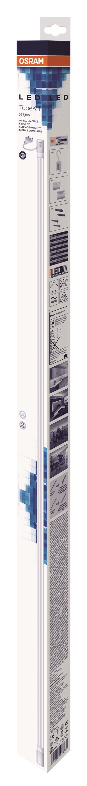OSRAM LED svítidlo TUBEKITLED06 8,9W/840 G5