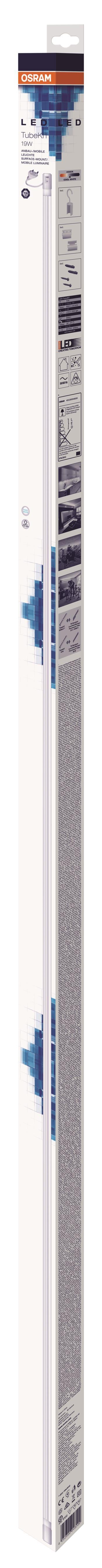 OSRAM LED svítidlo TUBEKITLED12 19W/840 G5