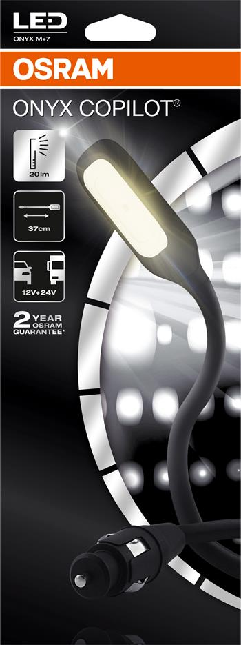 OSRAM svítilna do interiéru auta LED torch 12/24V napájení z auto zásuvky (Blistr 1ks)