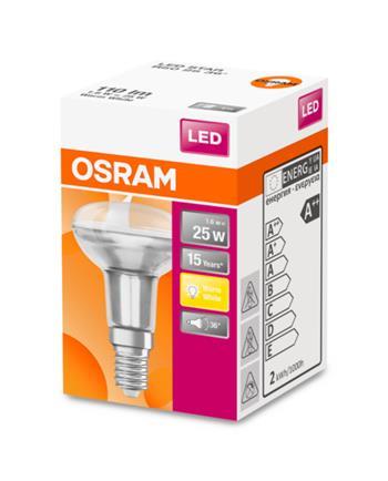 OSRAM LED STAR R50 36° 230V 1,6W 827 E14 noDIM A++ Sklo 110lm 2700K 15000h (krabička 1ks)