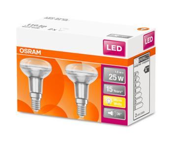 OSRAM LED STAR R50 36° 230V 1,6W 827 E14 noDIM A++ Sklo 110lm 2700K 15000h (krabička 2ks)
