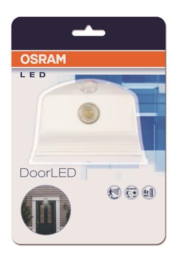OSRAM LED Svítidlo nad dveře DOOR LED White 80187 SENSOR 230V N/AW 0 noDIM A++ Plast lm 4000K h (blistr 1ks)