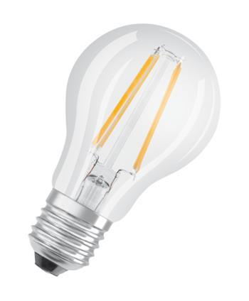 OSRAM LED Filament STAR ClasA 230V 7W 840 E27 noDIM A++ Sklo čiré 806lm 4000K 15000h (blistr 1ks)