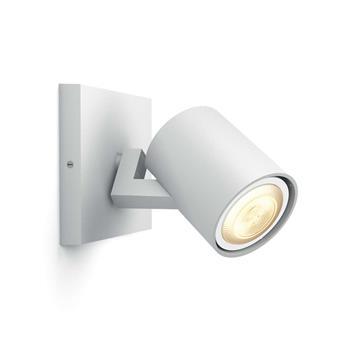 PHILIPS Runner Jednobodové svítidlo, Hue White ambiance, 230V, 1x5.5W GU10, Bílá, rozšíření