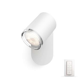 PHILIPS Adore Bodové svítidlo do koupelny, Hue White ambiance, 230V, 1x5.5W GU10, Bílá