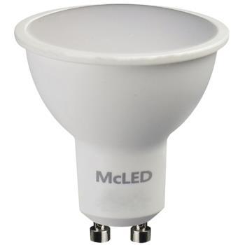 McLED žárovka, 4 W, 3000 K teplá bílá, GU10, 230 V