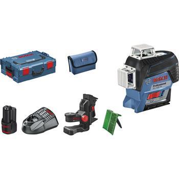 BOSCH čárový laser GLL 3-80 CG P + BM1 + L-Boxx