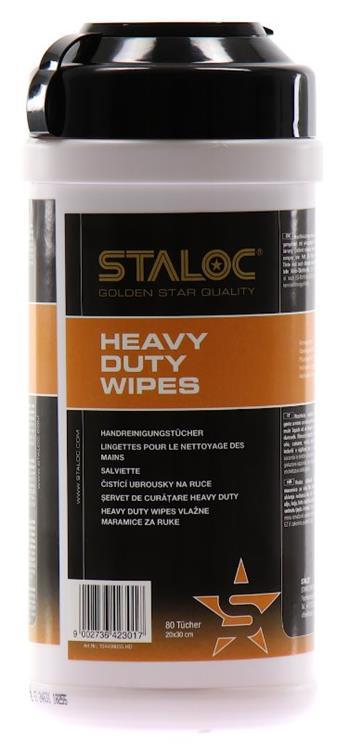 STALOC Heavy Duty Wipes čisticí ubrousky 80ks