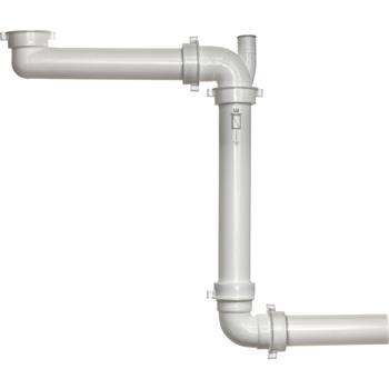 REGINOX sifon Panama pro úsporu místa 40 mm