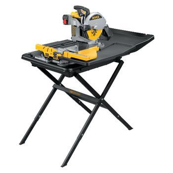 DeWALT D24000S Řezačka s posuvným stolem a stojanem pro mokré řezání dlažby 250 mm
