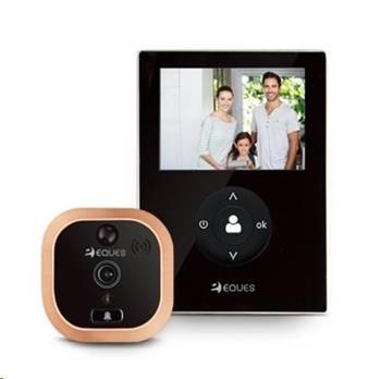Eques VEIU Mini Wi-fi dveřní kukátko