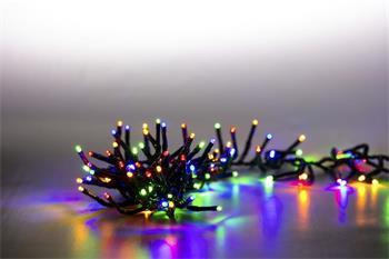 Marimex Řetěz světelný 400 LED dvojitý 4 m - barevná