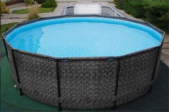 Marimex Bazén Florida 3,66x0,99 m bez filtrace - motiv RATAN
