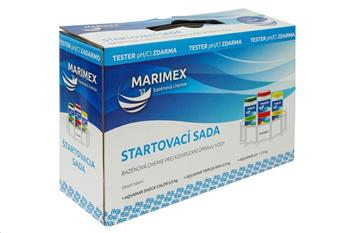 Marimex Chemie AQuaMar START set chemický (Shock, Triplex Mini, pH-, tester)