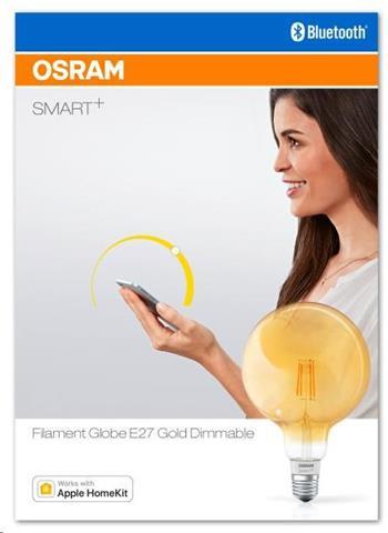 OSRAM SMART+ HomeKit Bluetooth Filament E27 5,5W 2700K (krabička 1ks)