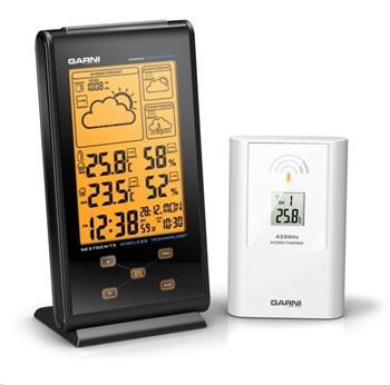 GARNI 135 meteorologická stanice s 3 denní předpovědí počasí