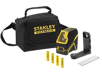 Stanley FatMax křížový laser, alkalické baterie, zelený paprsek