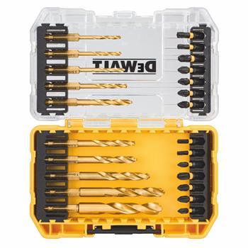 DeWALT DT70748T sada bitů a vrtáků do kovu FLEXTORQ, 24 ks