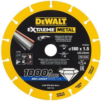 DeWALT DT40254 diamantový kotouč EXTREME METAL, 180 mm