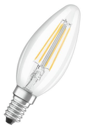 OSRAM LED STAR+ CL B Filament 4W 827 E14 470lm 2700K (CRI 80) 20000h A++ DIM-3step (Krabička 1ks)