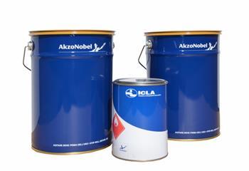 ICLA vodouředitelná lazura LW400-43 odstín ořech v 1L