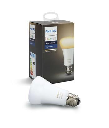 PHILIPS Hue White Ambiance, žárovka 9,5W E27 A60 DIM