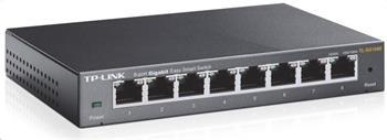 TP-Link TL-SG108E 8x10/100/1000 Desktop Easy Smart Switch, VLAN, QoS, IGMP