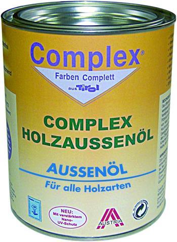 Complex Holzaussenol finish odstín přírodní v 1L