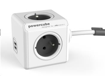 PowerCube Extended USB Grey (1,5m)