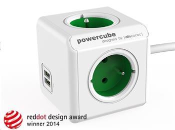 PowerCube Extended USB Green (1,5m)
